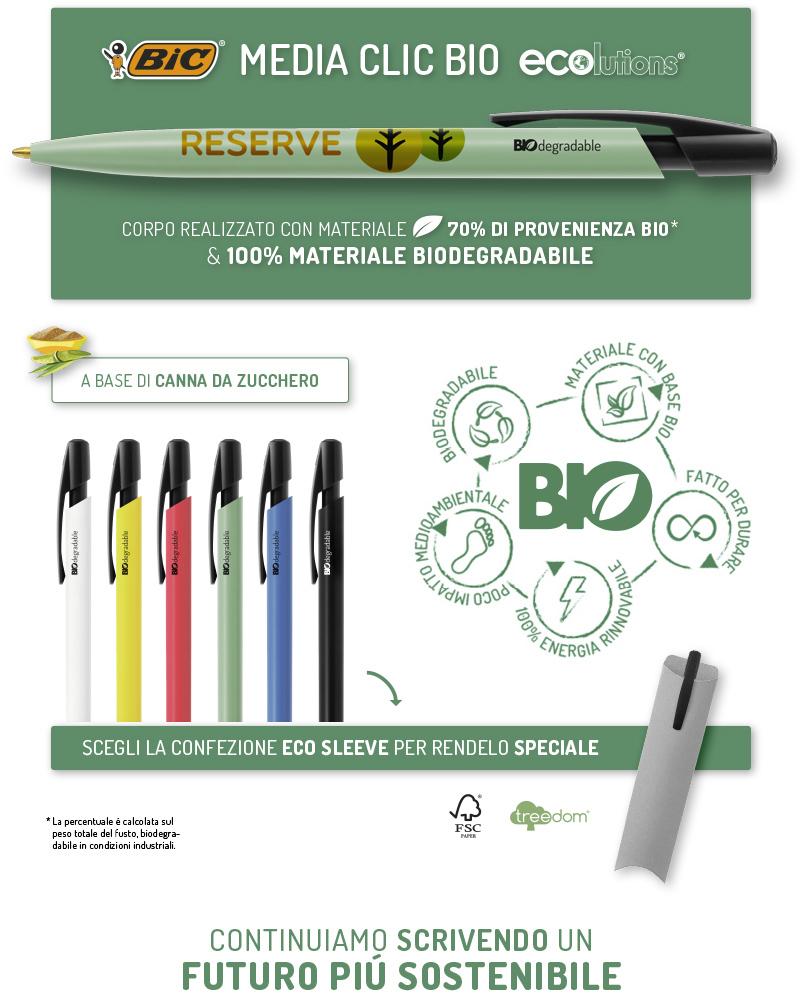 Promo penna biodegradabile